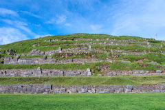 Sacsayhuaman, ruinas del inca, Perú Foto de archivo libre de regalías