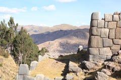 Sacsayhuaman Ruinen Stockfotos