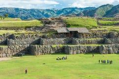Sacsayhuaman, ruines d'Inca dans Cusco, Pérou Photo libre de droits