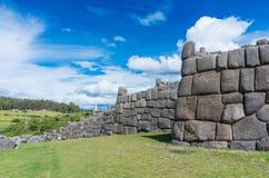 Sacsayhuaman, ruines d'Inca dans Cusco Pérou Image libre de droits