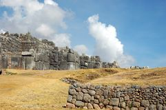 Sacsayhuaman Ruins Stock Photography