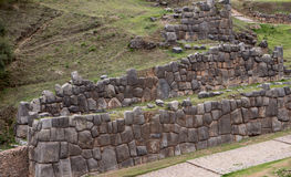 Sacsayhuaman Ruins in Cusco Royalty Free Stock Image