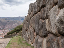 Sacsayhuaman Ruins in Cusco Stock Images