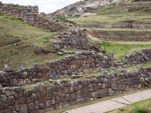 Sacsayhuaman Ruins in Cusco Royalty Free Stock Photo