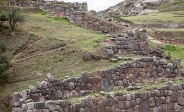 Sacsayhuaman Ruins in Cusco Royalty Free Stock Photos