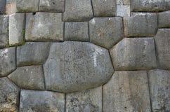 Sacsayhuaman Ruins in Cuzco Peru Royalty Free Stock Photo