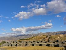 Sacsayhuaman Ruins,Cuzco, Peru. Royalty Free Stock Photo