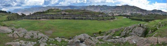 Sacsayhuaman Ruins,Cuzco, Peru. Royalty Free Stock Images