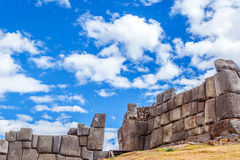 Sacsayhuaman Ruins Royalty Free Stock Images