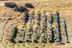Sacsayhuaman ruins peruvian Andes  Cuzco Peru Stock Image