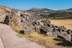 Sacsayhuaman ruins peruvian Andes  Cuzco Peru Royalty Free Stock Photography