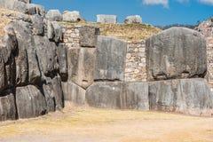Sacsayhuaman ruins peruvian Andes  Cuzco Peru Stock Photography