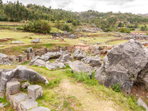 Sacsayhuaman ruiny, Cuzco, Peru Fotografia Royalty Free
