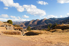 Sacsayhuaman, Sacred Valley of the Incas Stock Images