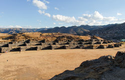 Sacsayhuaman, Sacred Valley of the Incas Royalty Free Stock Photos