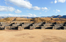 Sacsayhuaman, Sacred Valley of the Incas Stock Image