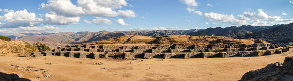 Sacsayhuaman, Sacred Valley of the Incas Royalty Free Stock Image