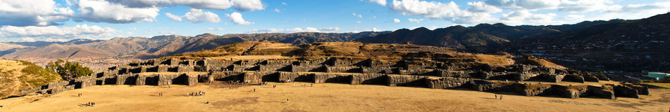 Sacsayhuaman, Sacred Valley of the Incas Royalty Free Stock Photo