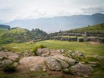 Sacsayhuaman sikt Arkivbild