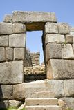Sacsayhuaman Stairs and Doorway Stock Images
