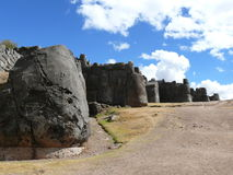 Sacsayhuaman w Cusco, Peru Obrazy Stock