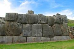 Sacsayhuaman wall royalty free stock photography