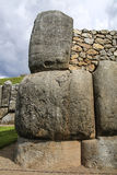 Sacsayhuaman walls, ancient inca fortress near Cuzco, Peru Stock Photo