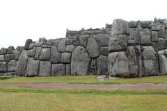 Sacsayhuaman Walls Royalty Free Stock Photos