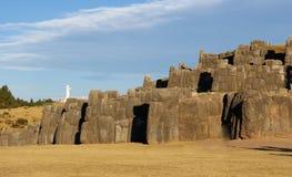 Sacsayhuamanruïnes Cuzco Peru Royalty-vrije Stock Foto's