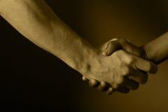Sacuda las manos Imagen de archivo