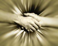 Sacuda las manos Imagen de archivo libre de regalías