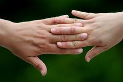 Sacudida de las manos Imagen de archivo