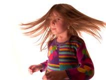 Sacudida del pelo Imagen de archivo libre de regalías