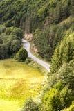 Sacuieu, paysage, nature, montagnes, Roumanie Images stock