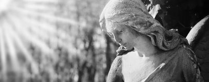 SAD ängel Arkivfoto