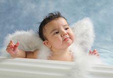 Sad angel Stock Photos
