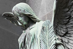 Sad angel. Royalty Free Stock Image