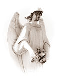 Sad angel Royalty Free Stock Images