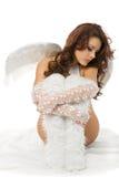 Sad angel Stock Images