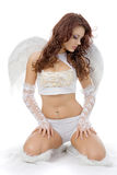 Sad angel Royalty Free Stock Photography