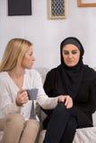 Sad arab woman Royalty Free Stock Images