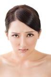 Sad Asian beautiful woman Royalty Free Stock Photo