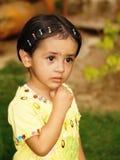 Sad Asian girl Stock Photos