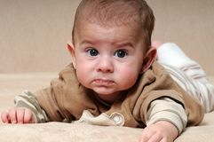 Sad Baby Stock Image