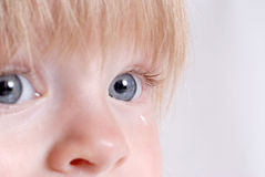 Sad Baby Stock Photography