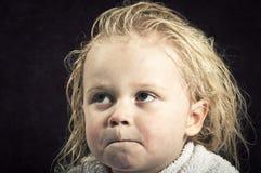 Sad baby Royalty Free Stock Image
