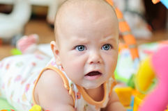 Sad baby Royalty Free Stock Photo