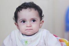 Sad baby girl Stock Photo