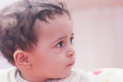 Sad baby girl Royalty Free Stock Photos