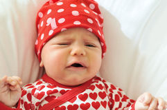 Sad baby Royalty Free Stock Images